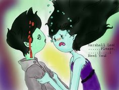 Marceline And Marshal Lee Anime