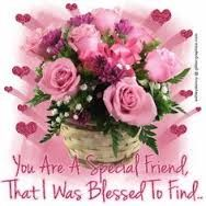 You are a special friend that I was blessed to find Job Pictures, Sister Friends, Friend Friendship, Beautiful Friend, Birthday Cards, Floral Wreath, Blessed, Card Making, Feelings