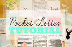 Pocket Letter™: Basic Tutorial- Here's a tutorial on how to make your own Pocket Letter ™
