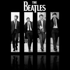 The Beatles - the British invasion came, and music was never the same. Poster Dos Beatles, Beatles Love, Les Beatles, Beatles Art, Ringo Starr, George Harrison, Paul Mccartney, John Lennon, Abbey Road
