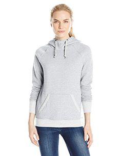 Champion Women's Fleece Pullover Hoodie, Oxford Heather/Oatmeal Heather, Medium ** Additional details @