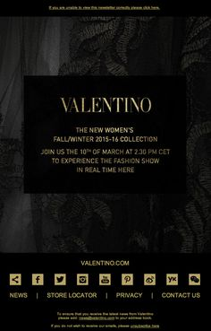 Not to be missed: The Women's Fall/Winter 2015-16 Fashion Show