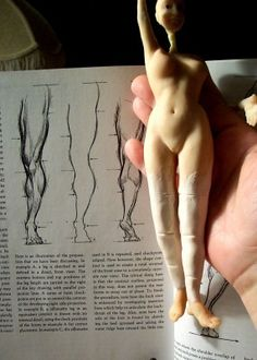 Doll sculpting tutorial step out
