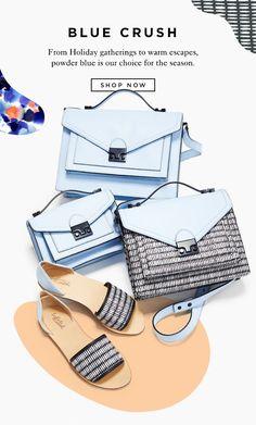 "Shop The Powder Blue Collection For Resort 2015 At The Official Loeffler Randall Online Store <a href=""http://LoefflerRandall.com"" rel=""nofollow"" target=""_blank"">LoefflerRandall.com</a> https://mail.google.com/mail/u/0/"