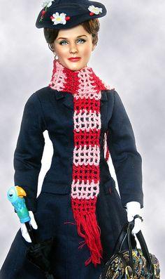 Julie Andrews Doll by Noel Cruz