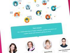 Pinkup Team page #WIP