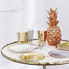 My Shining Armour Rose Gold Copper Pineapple is a Piña colada for your eyes! Shop at http://myshiningarmour.com