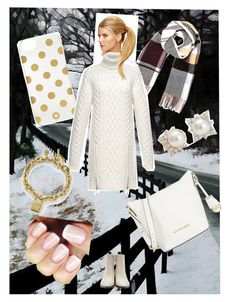 """Snowy day"" by boopreski ❤ liked on Polyvore featuring River Island, Ken Paves, Kate Spade, Alexander Wang, Acne Studios, MICHAEL Michael Kors, Michael Kors and Blue Nile"