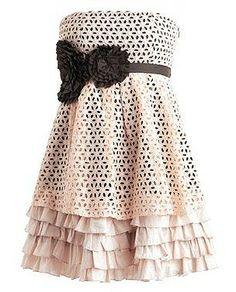 Eyelet Extravaganza Dress