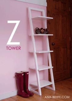 Make your own z shelf!