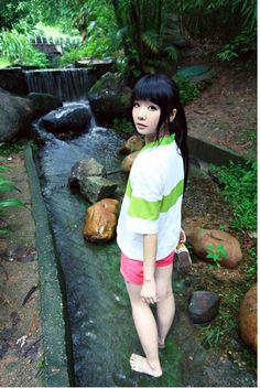 Japanese anime Spirited Away Chihiro Ogino Sen Cosplay Costume Any ...