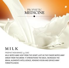 The blessings of Milk #science #islam