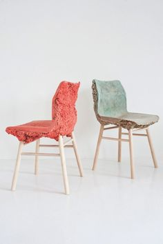 James Shaw and Marjan van Aubel: The Well Proven Chair - Thisispaper Magazine #ChairDesign