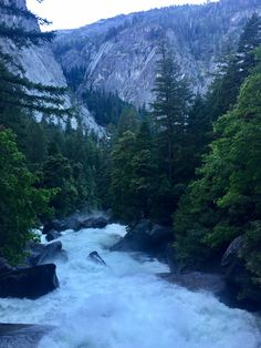 June 27, 2017 Can you find the nearly hidden falls? ~Merced River  ~Yosemite National Park, USA