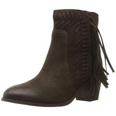 #Shoes #Apparel Mia 3192 Womens Elina Brown Suede Heels Ankle Boots Shoes 6.5 Medium (B,M) BHFO #Christmas #Gifts