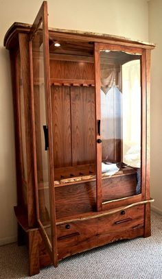 64 inspiring gun cabinet plans images gun storage weapon storage rh pinterest com