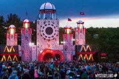 Mysteryland US Main Stage