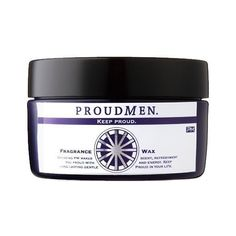 PROUD MEN Fragrance Hair Wax - 60g. Impress people around you with sophisticated fragrance with this hair wax. It is a head turner hair wax, which leaves subtle fragrance in the air. Offers a perfect hardness for any type of hair styles.  Proud Men offers a range of men's premium grooming products including hair care, skincare, bodycare and more. PM products cater for businessmen in their 30s onwards who understands the importance of taking care of one's fragrance.  Producer: Lenor J...
