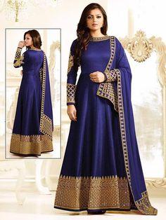 Indian Designer anarkali salwar kameez suits gown party wear wedding dresses #Handmade #salwarkameez