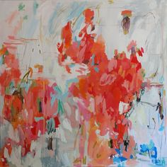 step by step: Michelle Armas shows you how she paints her abstracts
