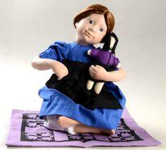 2-Ashton-Drake-Porcelain-Dolls-Lot-AMISH-BLESSINGS-Rebeccah-Ruth-MIB-NRFB