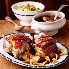 Roast partridge with caramelised balsamic shallot sauce Recipe   delicious. Magazine free recipes