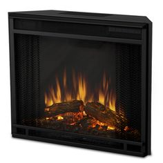 @Overstock.com - Real Flame Electric Firebox Fireplace - Add a romantic feel to any room with this elegant electric firebox from Real Flame. It features a remote control, so you can turn the fire on-and-off with the flick of your wrist, and it has a timer function that will turn the unit off automatically.  http://www.overstock.com/Home-Garden/Real-Flame-Electric-Firebox-Fireplace/7359096/product.html?CID=214117 $246.99