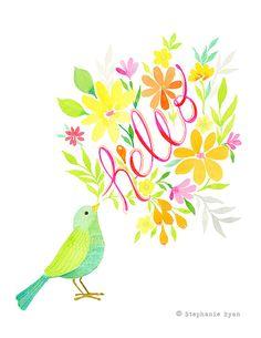 Hello Bird by Stephanie Ryan