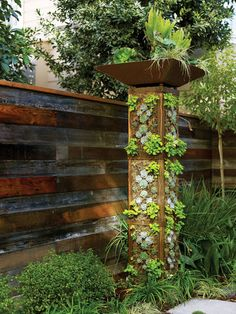 Try our step-by-step instructions for making a garden tower for all your edible plants.