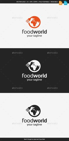 Description This logo can be used by restaurants, food services, food blog, food lovers, etc.Whats included?100 vector AI and EPS