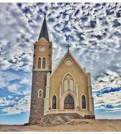 Lüderitz church West Africa, South Africa, German Pop, Land Of The Brave, Namibia, The Beautiful Country, In 2019, Adventure Awaits, New Life