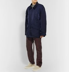 Fear Of God Black Slim-fit Belted Logo-appliquÉd Nylon-twill Trousers In Burgundy Fashion Advice, Fashion News, Nike Jacket, Bomber Jacket, Combat Gear, S Models, Work Wear, Burgundy, Trousers