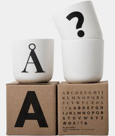 Via Playtype | Typographic Mugs