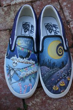 """Nightmare Before Christmas"" Vans"