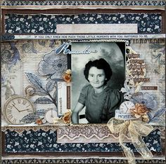 Kaisercraft Betsy's Couture 'Remember' Layout by Michelle Grant ~ Scrapbook Pages 3.