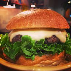 BURGER SHOP HOTBOX: Monterey Jack Cheese Burger
