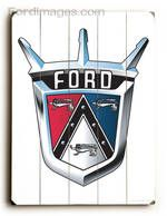Fordimages.com - Vintage Ford Shield : Posters and Framed Art Prints Available