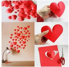 Pop up heart diy