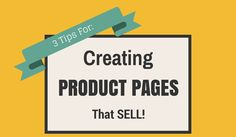 From the techy stuff to images and the copy that compels people to buy, this blog post has awesome tips!