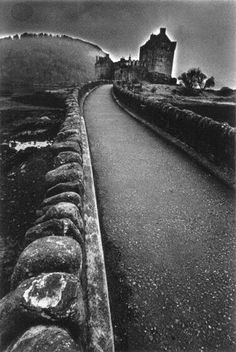 Jeanloup Sieff - A Castle in Scotland
