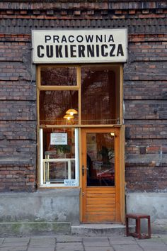 Walk around Warsaw: a small bakery. Small Bakery, Brick In The Wall, Polish Food, Cake Shop, My Heritage, Krakow, Thesis, Ireland, Deco