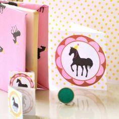 printable party horse kit