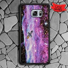 You Cant Take The Sky From Me Nebula Samsung Galaxy S7 Edge Black Case