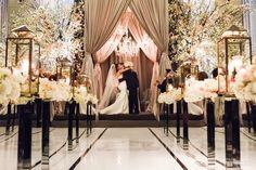You may now kiss the bride. | Photography: Ikonica | #fourseasons #Toronto #weddings #fsweddings #bridal #springwedding #spring