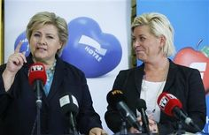 Norway's new government concedes on oil, immigration for support Face, Women, Faces