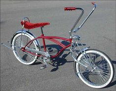 Lowrider Bikes with Hydraulics | Gallery For > Red Lowrider Bikes