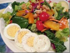 One Delicious Salad ~ Made on Day 2 of #WeightWatchers #SimpleStart