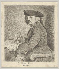 Carl Philipp Glume, the Artist's Brother Johann Gottlieb Glume  (German, 1711–1778) Sitter: Portrait of Carl Philipp Glume (German) Date: 1748 Medium: Etching Accession Number: 62.600.540