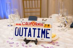 Enchantment Under the Sea Back to the Future wedding from @offbeatbride