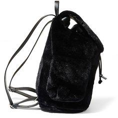 Steve Madden Bcaleb Handbag Backpack ($88) ❤ liked on Polyvore featuring bags, backpacks, black, steve madden, draw string bag, oversized backpacks, steve madden bags and rucksack bags